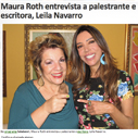 Maura Roth entrevista a palestrante Leila Navarro
