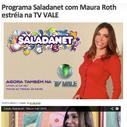 Saladanet estréia na TV VALE