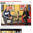 Maura Roth entrevista o cantor e compositor Edgard Scandurra