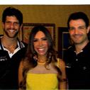 Maura Roth entrevista os atores Olivetti Herrera e Guilherme Chelucci