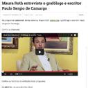 Maura Roth entrevista o grafólogo e escritor Paulo Sergio de Camargo