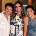 Maura Roth entrevista a dupla sertaneja pai e filho Yago e Juliano