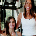 Márcia Martin e Mariana Aun. do Fit4, no Saladanet