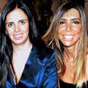 Renata Vichi e Maura Roth no aniversário de Celso Moraes